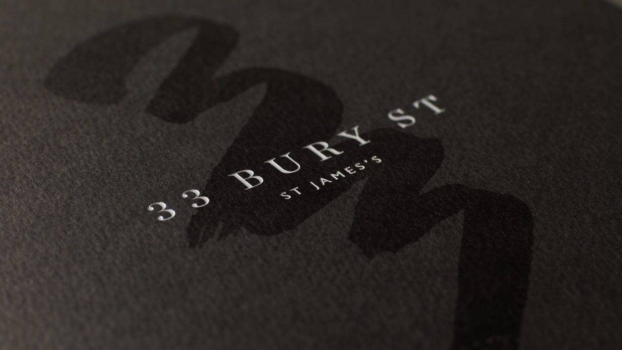 property marketing agency for 33 bury street london - brochure