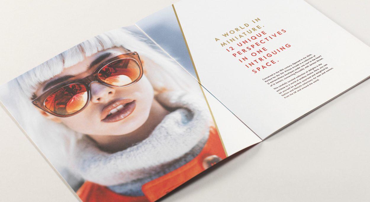 property marketing for princes arcade London - brochure 2