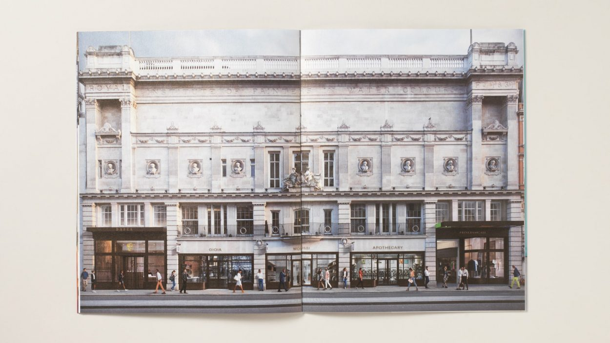 property marketing for princes arcade London - brochure 3