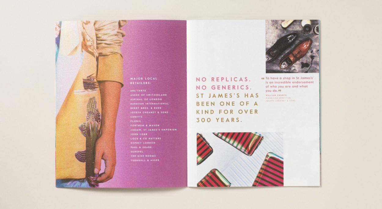 property marketing for princes arcade London - brochure 7