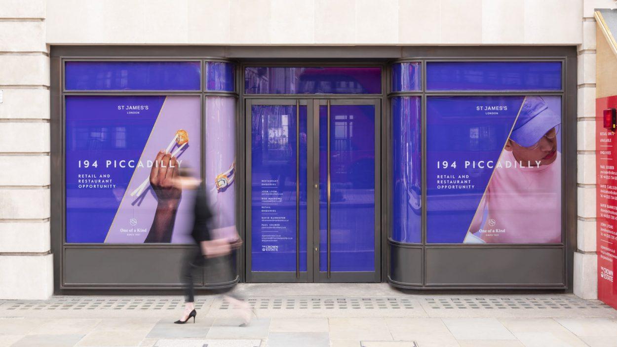 property marketing for princes arcade London - signage 2