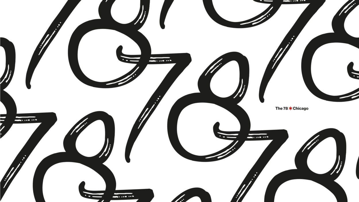 real estate branding the 78 chicago - logo