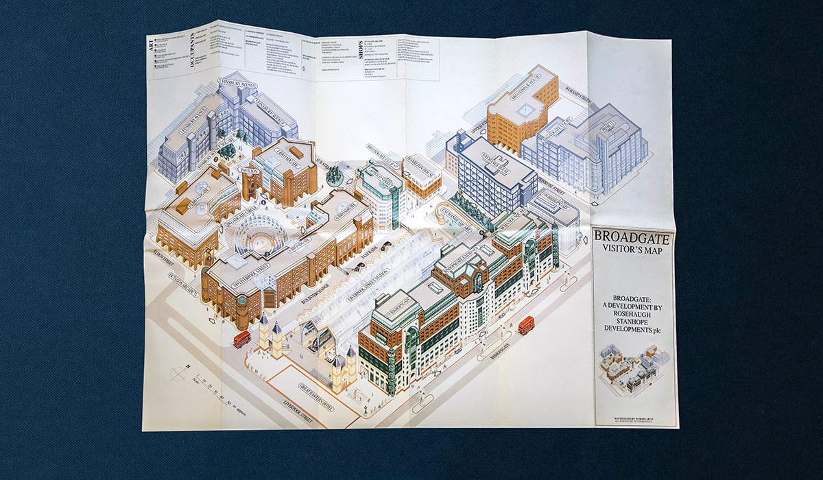 peter murray broadgate map - wordsearch