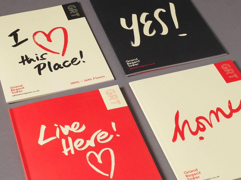 GRT property marketing london - wordsearch studio
