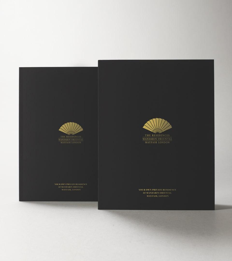 property marketing for hanover bond, london - brochure cover