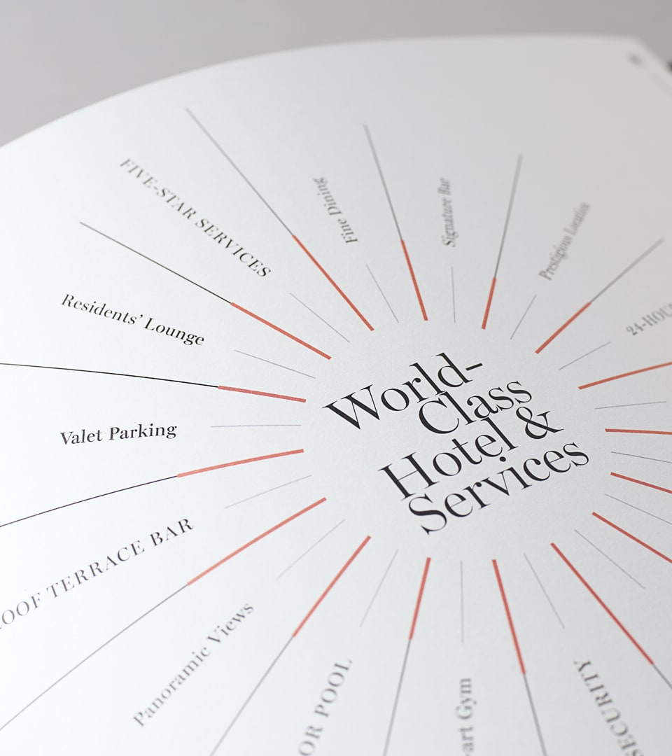 property marketing for hanover bond, london - brochure design - wordsearch
